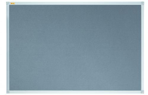 Felt Pin Board X-tra!Line® 180x120cm Grey