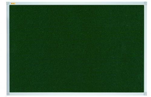 Felt Pin Board X-tra!Line 240x120cm Green