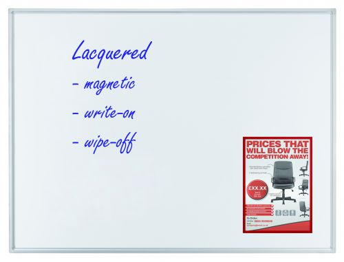 Whiteboard ECO 120 x 90cm Lacquered Steel