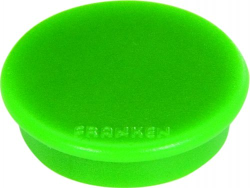 Tacking Magnet Size 38mm Adhesive Force 1500g Green 10 Pieces