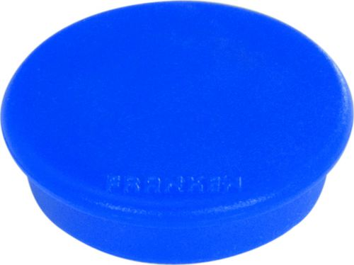 Tacking Magnet Size 38mm Adhesive Force 1500g Blue 10 Pieces