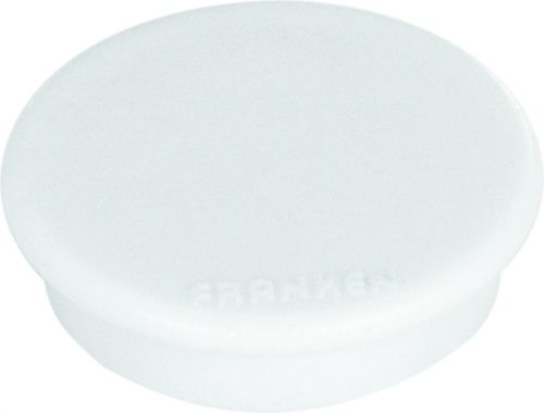 Tacking Magnet Size 38mm Adhesive Force 1500g White 10 Pieces