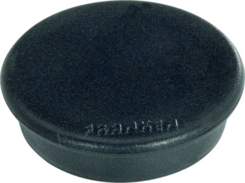 Tacking Magnet Size 38mm Adhesive Force 1500g Black 10 Pieces