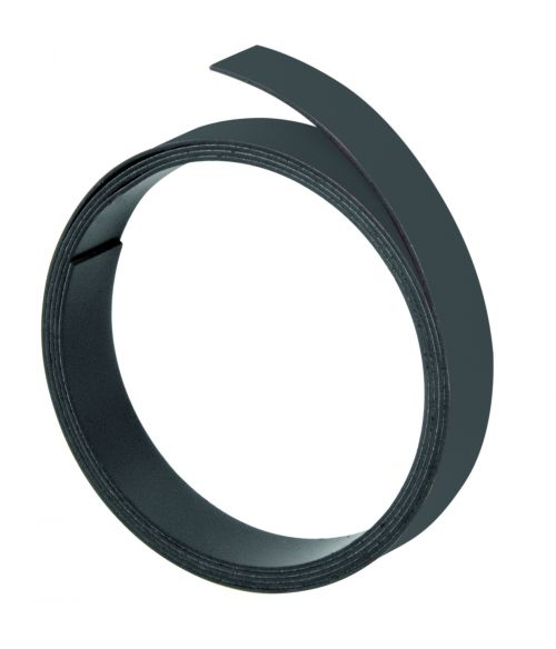 Magnetic Strips 100cm x 10mm Thickness 1mm Black