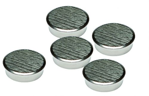 Image for 16mm Chrome Magnets Pack 5