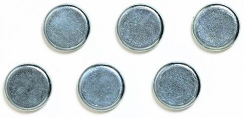 Image for 10mm Chrome Magnets Pack 6