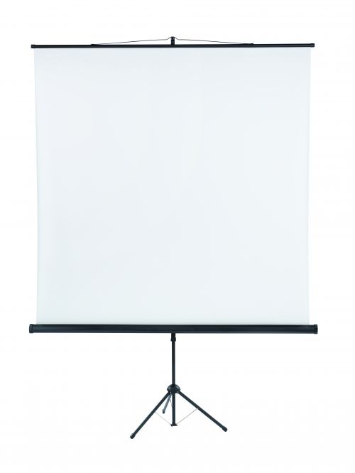 Tripod Projection Screen X-tra!Line® Format 1:1 Screen Size 180 x 180cm