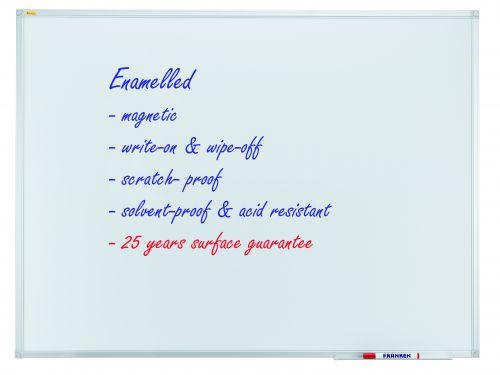 Whiteboard X-tra!Line 150 x 100cm Enamel