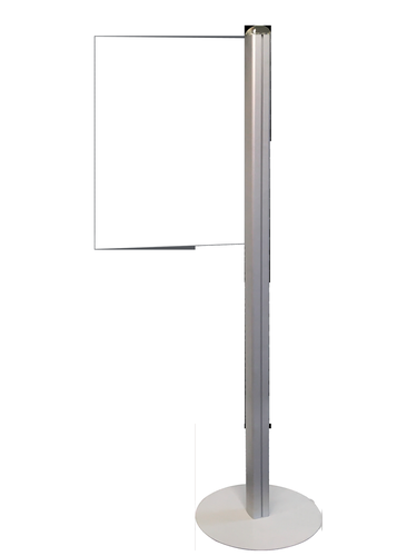 InformationDisplay Stand with Acrylic Message Sign