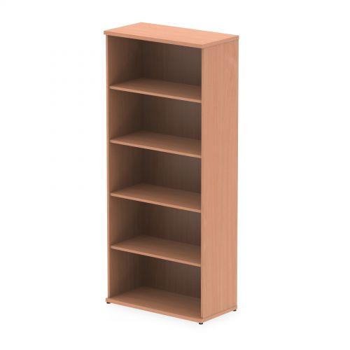 Impulse 2000mm Bookcase Beech I000052