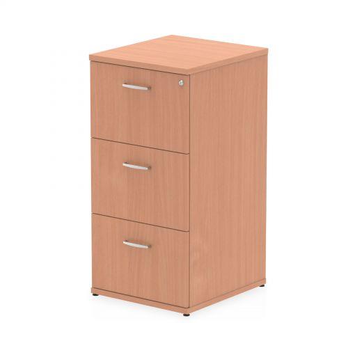 Impulse 3 Drawer Filing Cabinet Beech I000073