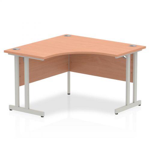 Impulse Cantilever 1200 Call Centre Desk Beech