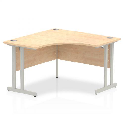 Impulse Cantilever 1200 Call Centre Desk Maple