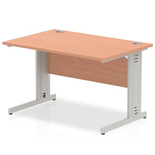 Impulse Cable Managed 1200 Rectangle Desk Beech