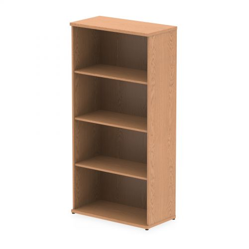 Impulse 1600mm Bookcase Oak I000759