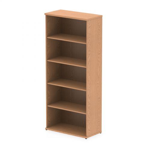 Impulse 2000mm Bookcase Oak I000760
