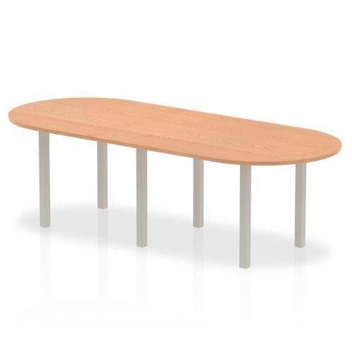 Impulse 2400 Boardroom Table Oak