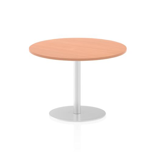 Italia Poseur Table Round 1000 Top 725 High Beech