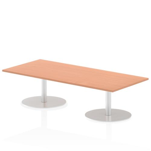 Italia Poseur Table Rectangle 1800/800 Top 475 High Beech