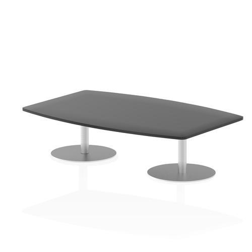 Italia Poseur Table High Gloss 1800 Top 475 High Black