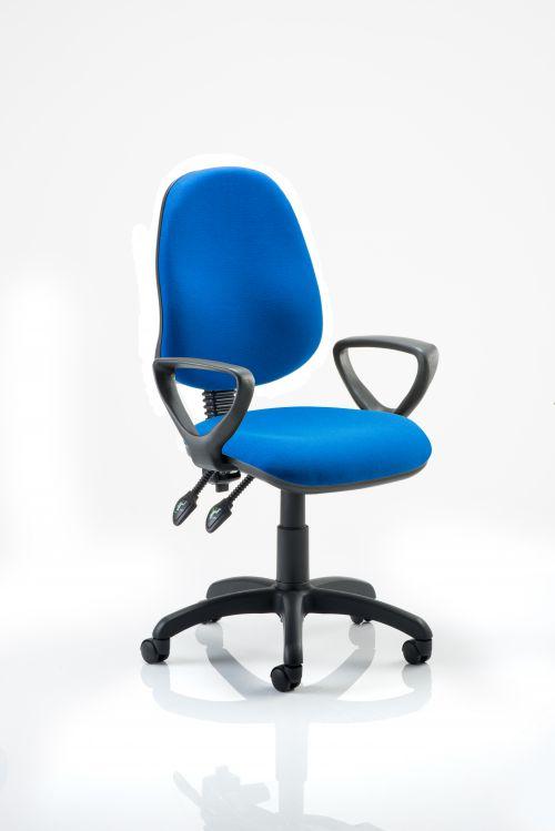 Eclipse Plus II Chair Blue Loop Arms KC0023