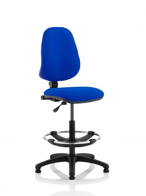 Eclipse Plus I Blue Chair With Hi Rise Kit KC0239
