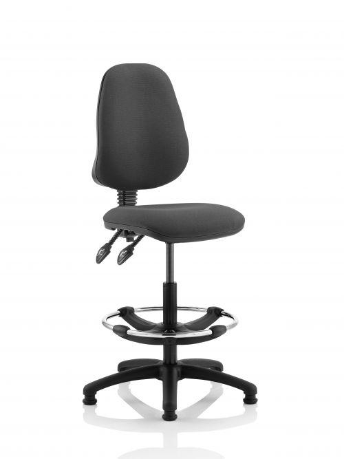 Eclipse Plus II Chair Charcoal Hi Rise Kit KC0252