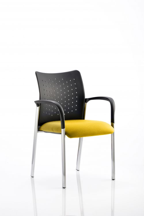 Academy Bespoke Colour Seat With Arms Yellow