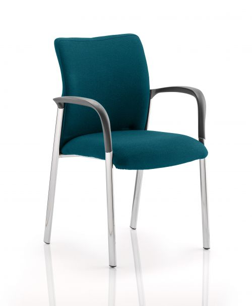 Academy Fully Bespoke Fabric Chair with Arms Maringa Teal