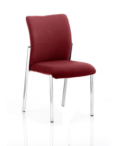 Academy Bespoke Colour Fabric Back With Bespoke Colour Seat Without Arms Ginseng Chilli