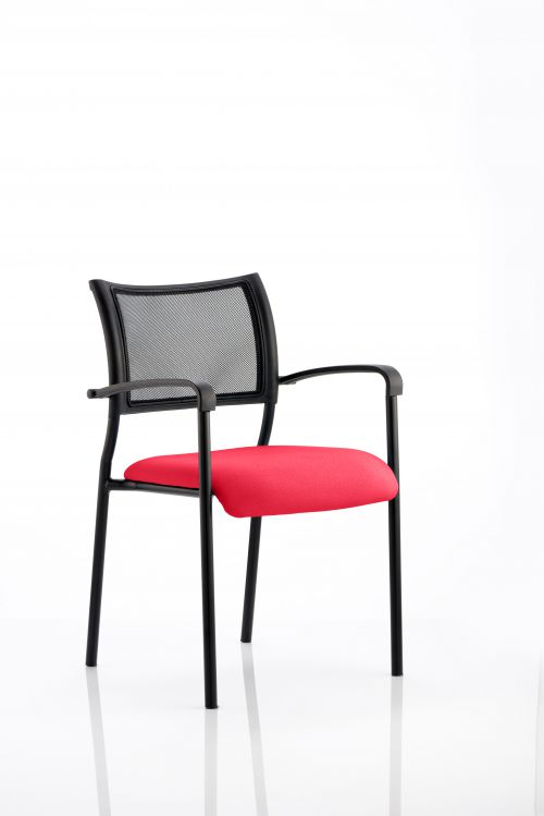 Brunswick Bespoke Colour Seat Black Frame Bergamot Cherry