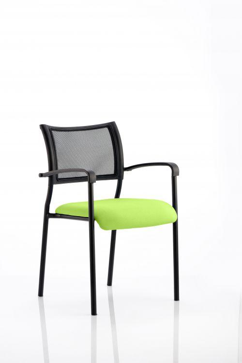 Brunswick Bespoke Colour Seat Black Frame Myrrh Green