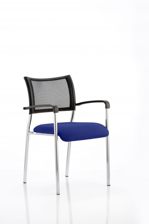 Brunswick Bespoke Colour Seat Chrome Frame Stevia Blue