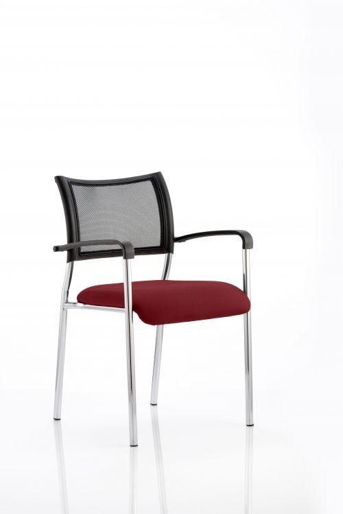 Brunswick Bespoke Col Seat Chrome Frame Ginseng Chilli