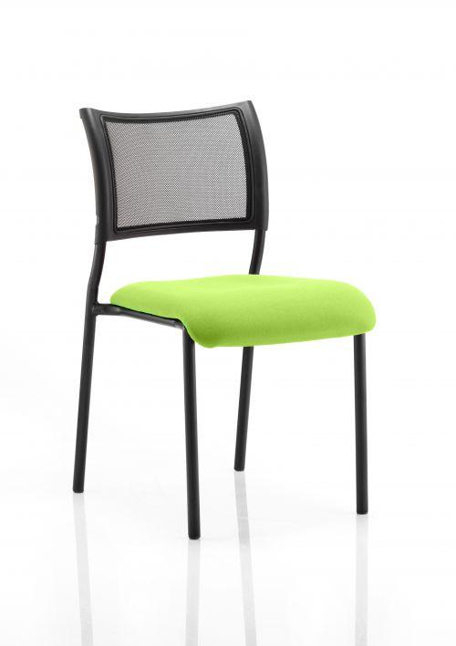 Brunswick Bespoke Seat Black Frame Myrrh Green