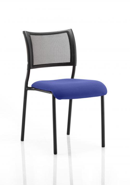 Brunswick Bespoke Seat Black Frame Stevia Blue