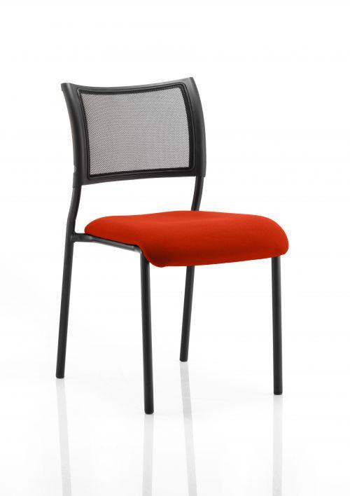 Brunswick Bespoke Seat Black Frame Tabasco Red