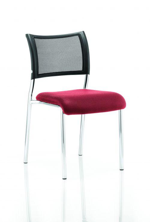 Brunswick Bespoke Seat Chrome Frame Bergamot Cherry