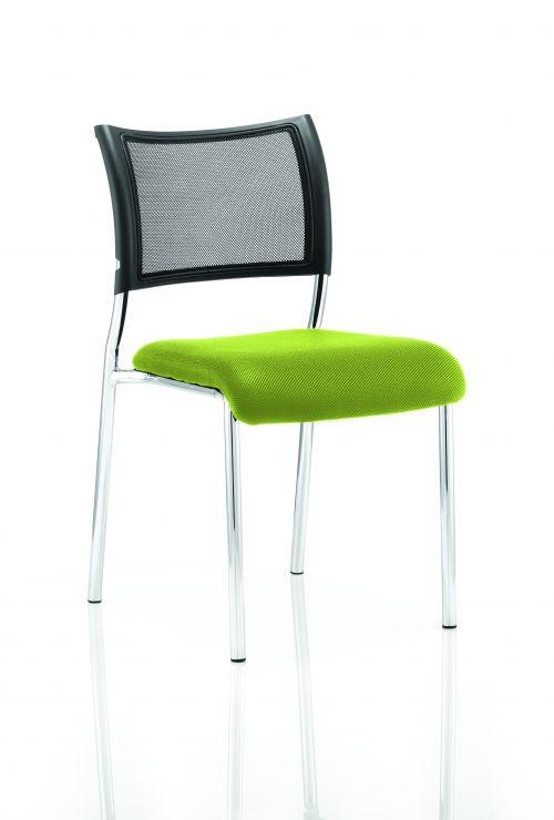 Brunswick Bespoke Seat Chrome Frame Myrrh Green