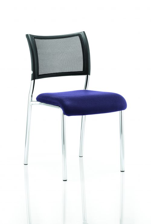Brunswick Bespoke Seat Chrome Frame Stevia Blue