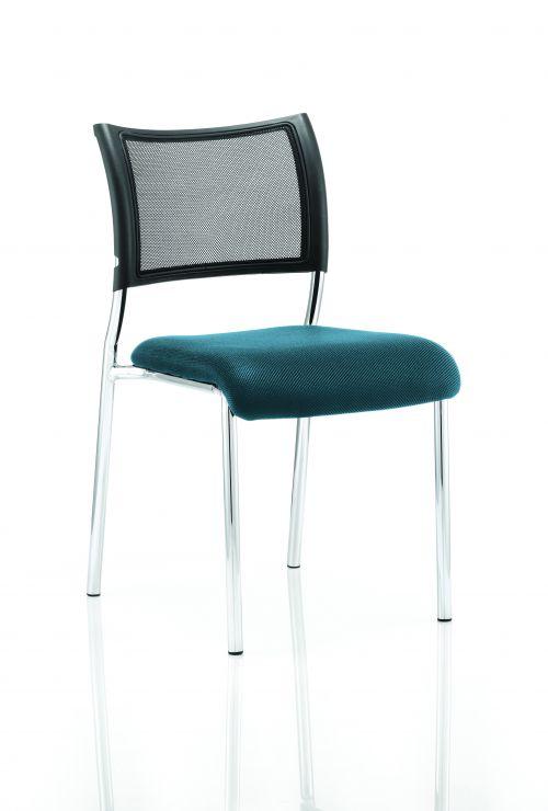 Brunswick Bespoke Seat Chrome Frame Maringa Teal