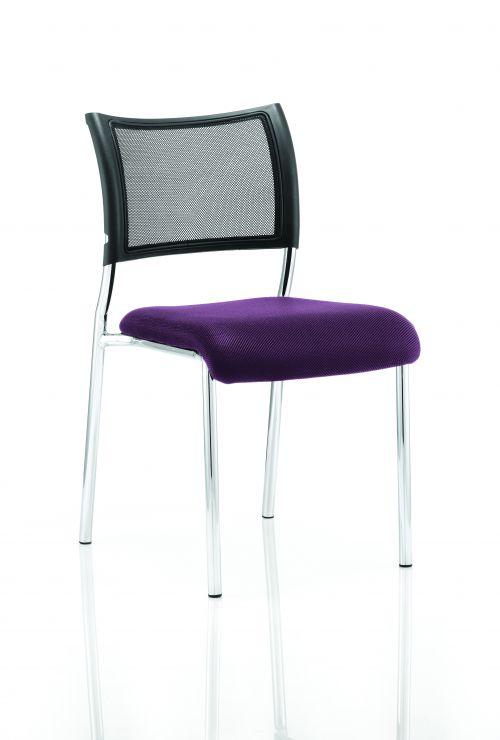 Brunswick Bespoke Seat Chrome Frame Tansy Purple