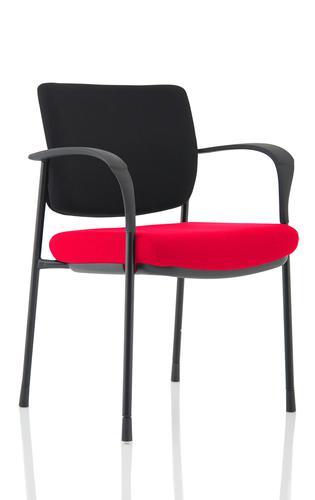 Brunswick Deluxe Black Frame Bespoke Seat Bergamot Cherry
