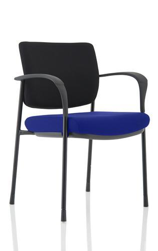Brunswick Deluxe Black Frame Bespoke Seat Stevia Blue