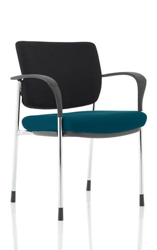 Brunswick Deluxe Chrome Frame Bespoke Seat Maringa Teal