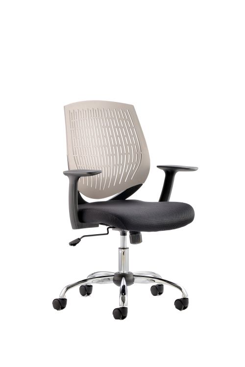Dura Task Operator Chair Grey With Arms