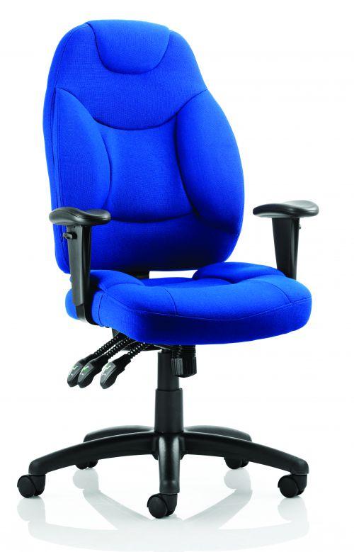 Galaxy Chair Blue Fabric OP000066