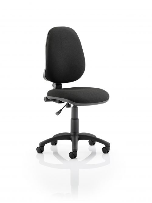 Eclipse Plus I Black Chair Without Arms OP000158