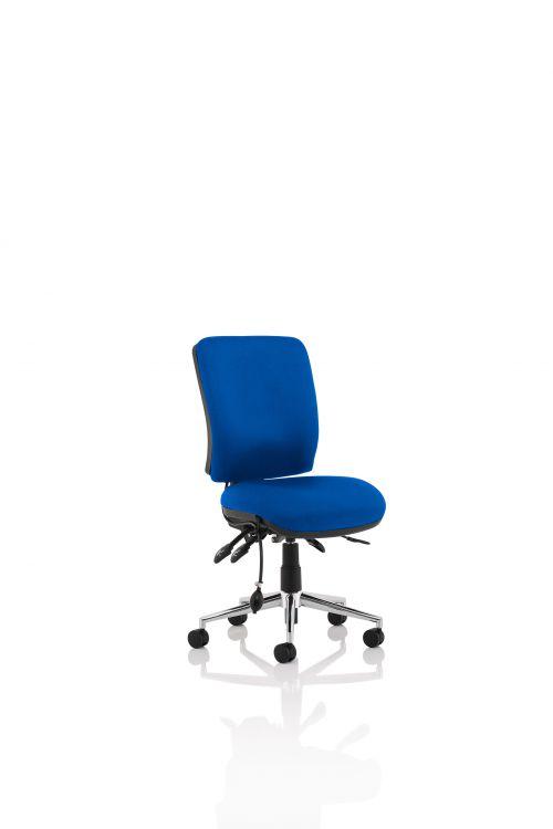 Chiro Medium Back Chair Blue OP000248