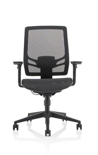 Ergo Twist Chair Black Mesh Seat Mesh Back OP000253